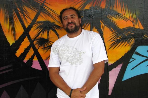 2012 Fulbright-Creative New Zealand Pacific Writer in Residence, Daren Kamali (photo: Ema Tavola)