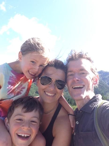 Jake vander Zanden and family