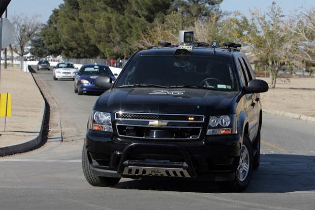 Cornell's self-driving car 'Skynet' ()