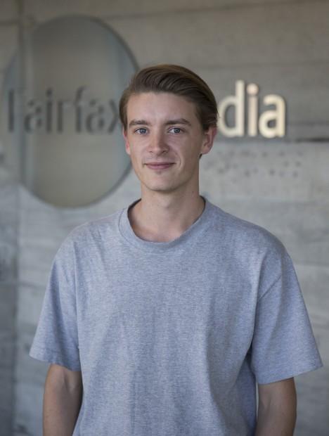 280515 News Photo: Peter Meecham/ Fairfax Media Jeremy Olds, Fairfax Media reporter writer for Sunday Magazine.  Features staffstaff