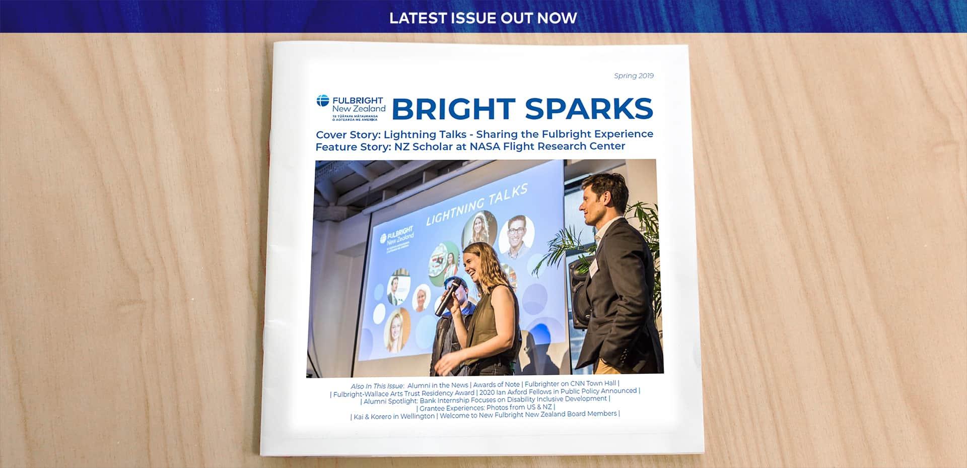 Bright Sparks Alumni Magazine Spring 2019